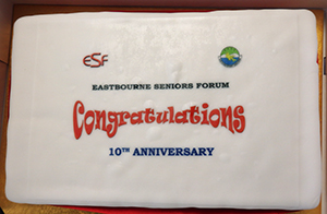 Welcome to the Eastbourne Seniors Forum website